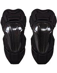 XG Motocyclette en fibre de carbone extérieure véhicule hors route jambe - genoux jambières de chevalier d 'automne
