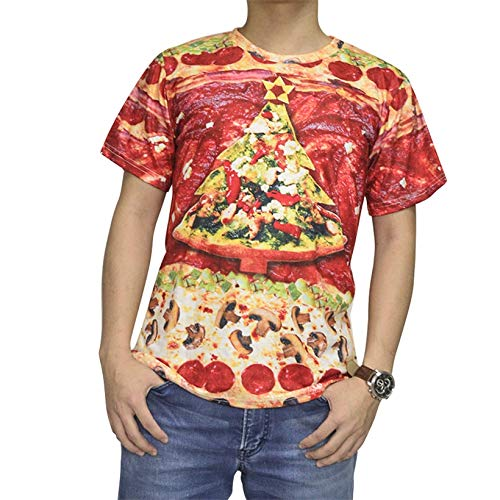 GJCDGPZTX Harajuku Stil Frauen Männer Ziehen Die 90Er Jahre Jazz Solo Crewneck T-Shirt Katze/Jersey T-Shirt 3D Unisex Lustige Grafik T-Shirts (Crewneck T-shirt Jersey Damen)