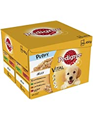 Pedigree Puppy Pouches Meat Selection in Jelly, 24 x 100 g