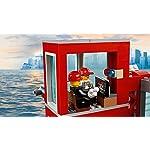 LEGO-City-Fire-Caserma-dei-Pompieri-su-3-Livelli-con-4-Minifigures-Mattoncini-Sonori-e-Luminosi-Set-Ricco-di-Dettagli-e-Accessori-per-Bambini-dai-5-Anni-in-Su-60215
