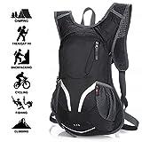 Best Bicycle Waterproof Backpacks - Bike backpack, 15L Waterproof Bicycle Backpack, Breathable Adjustable Review