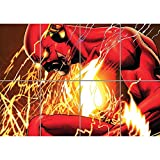 THE FLASH COMIC BOOK CARTOON GIANT ART PRINT POSTER AFFICHE PICTURE G1071