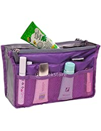 Multipocket Handbag Organizer , Travel Bag Make Up Organizer Bag Women Men Casual Travel Bag Multi Function Handbag...