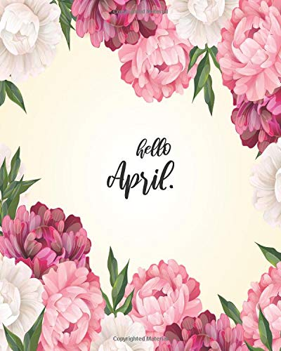 Hello April: Bullet Journal set up for your BEST Monthly To Well Organize & Accelerate Your Ambitious Goals -