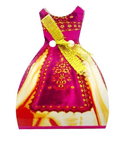 Kaftan Henna Box 50 Stück - für Hennaabend Kina Gecesi Polterabend türkische Hochzeit Sünnet Gastgeschenke ()