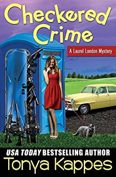 Checkered Crime : A Cozy Mystery (A Laurel London Mystery Series Book One) (English Edition)