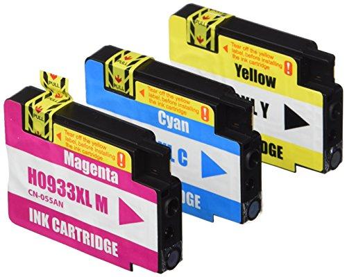 Prestige Cartridge HP 932XL / HP 933XL 10-er Pack Druckerpatronen für HP Officejet 6100, 6600, 6700, 7110, 7600, 7610, 7612, schwarz / cyan / magenta / gelb