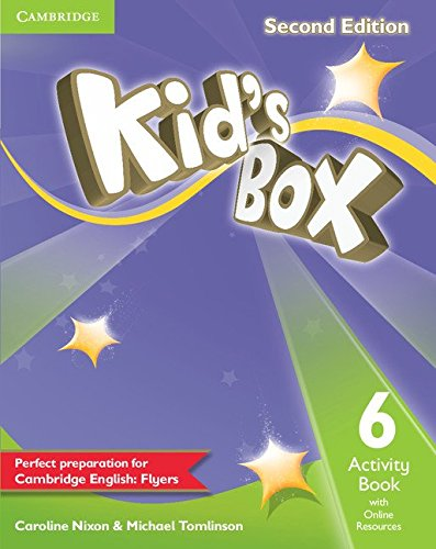 Kid's Box Level 6 Activity Book with Online Resources Second Edition - 9781107636156