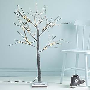 meters schneebedeckten zweigen f r den innenbereich beleuchteter baum mit. Black Bedroom Furniture Sets. Home Design Ideas