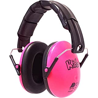 Edz Kidz Ear Defenders (Bright Pink)