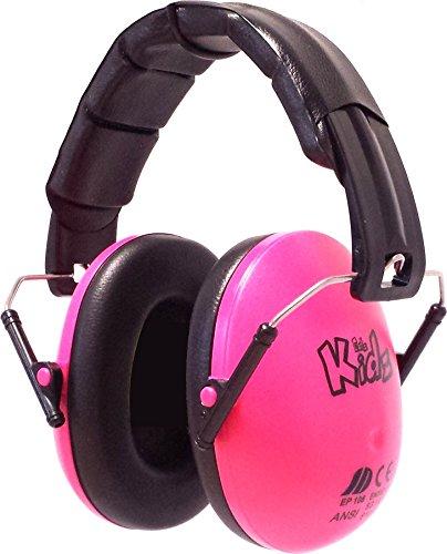 Edz Kidz Kinder Gehörschutz Kapselgehörschutz (pink)