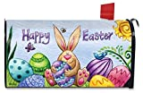 Best Briarwood Lane Garden Decors - Happy Easter Bunny Magnetic Mailbox Cover Holiday Briarwood Review