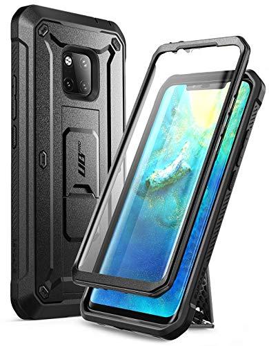 SupCase Huawei Mate 20 Pro Hülle 360 Grad Handyhülle Bumper Case Robust Schutzhülle Cover [Unicorn Beetle Pro] mit Integriertem Bildschirmschutz für Huawei Mate 20 Pro/LYA-L29 (6.39 Zoll) 2018 (Schwarz)