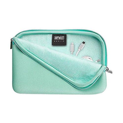 Artwizz 9345-1701 Neopren-Tasche für Kabel, Ladegerät mint