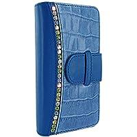 PIELFRAMA 687SWB Swaro Wallet Case Apple iPhone 6 Plus in blau