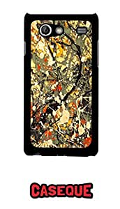 Caseque Spring Valley Back Shell Case Cover For Samsung Galaxy S Advance