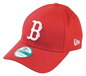 Boston Rouge Sox MLB Rouge / Blanc 9Forty Core Basic New Era Réglable Casquette de baseball Taille Réglable