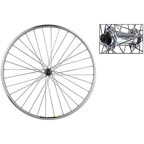 Wheel Master 700C Road Front Wheel - Mavic Open Sport Rim, Shimano 4600 Hub, 32H, Silver by