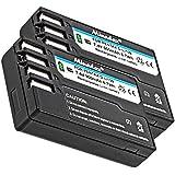 2x Minadax® Batterie de qualité avec véritable de 900mAh pour Pentax K-r, 30, comme d-li109–Système de batterie intelligent avec puce
