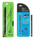 Blue Heaven Combo of (Line & Design Sketch Eyeliner) & (Soft kajal)