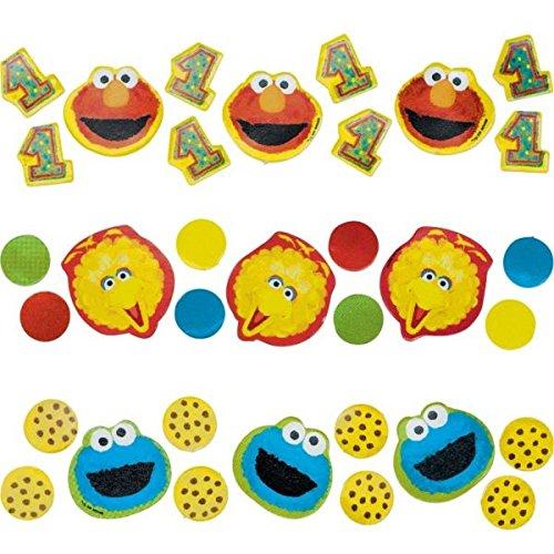 Amscan 207748 Sesame Street 1. Confetti