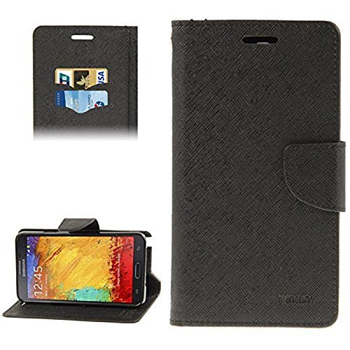 BRAND BIGFIZ Mercury Goospery Fancy Diary Wallet Flip Cover for Sony Xperia C S39H - BLACK  available at amazon for Rs.199