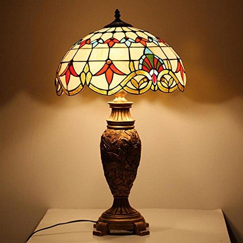 AOKARLIA Lampe De Table Style EuropéEn RéTro Baroque éTude Chambre Lampe De Chevet