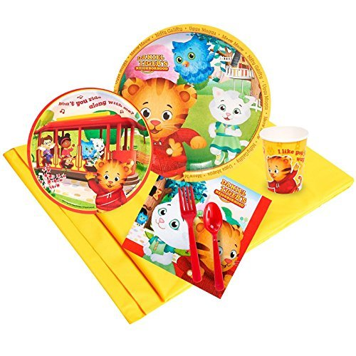 Daniel tiger party supplies - party pack for 8 by birthdayexpress
