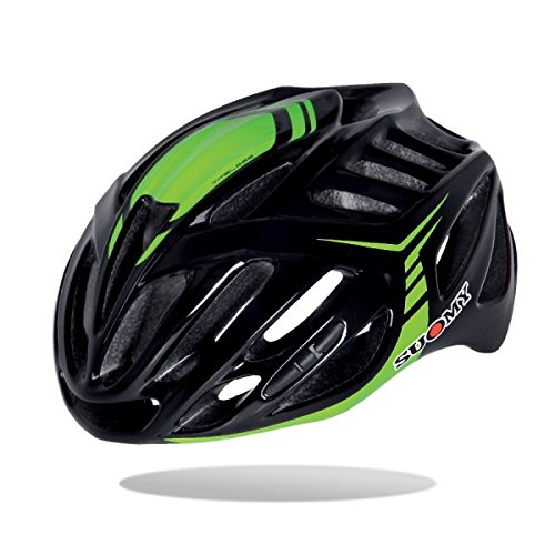 Suomy Casco bici Timeless nero / verde taglia M (Caschi MTB e Strada) / Road helmet Timeless black / green size M ( Mtb and Road Helmet)