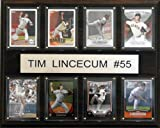 C&I Collectables MLB Tim Lincecum San Francisco Giants 8 card Plaque