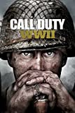 Call of Duty - Stronghold - WWII Key Art - Games Shooter Poster - Größe 61x91,5 cm + 2 St Posterleisten Holz 61 cm