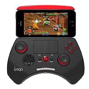 Controleur Manette de JEUX Bluetooth sans fil pour mobile iPega PG-9028 manette Portable de jeu vidéo avec Bluetooth 3.0 pour Android 3.2 IOS 4.3 Bluetooth 3.0 au-dessus de Smartphones Tablet PC Win7 Win8 ordinateur