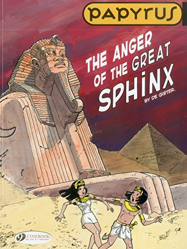 Papyrus Vol.5: The Anger of the Great Sphinx by Lucien De Gieter (1-Mar-2012) Paperback