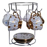 Sterling Large Chrome 6 Cup Rack Coffee ...