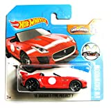 Hot Wheels Jaguar F-Type Project 7 rot 1/10 1:64