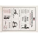 Lexington 20201530160 Paño de Cocina, Algodón, Blanco, 50x70x1 cm