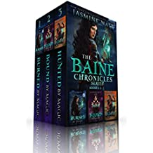 The Baine Chronicles Series, Books 1-3: Burned by Magic, Bound by Magic, Hunted by Magic (The World of Recca Boxed Sets) (English Edition)