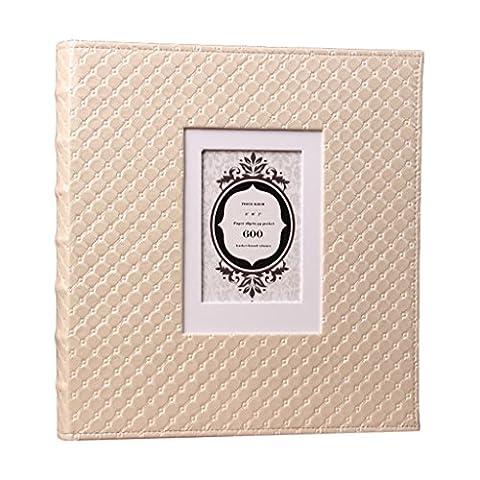 SESO UK- Kreatives Fotoalbum, Jubiläumsalbum, Hochzeitsalbum, Baby Growth Memo Album ( größe : 600 photos )