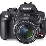 Canon EOS 350D SLR-Digitalkamera (8 Megapixel) inkl. Objektiv EF-S f1:3,5-5,6/18-55 mm