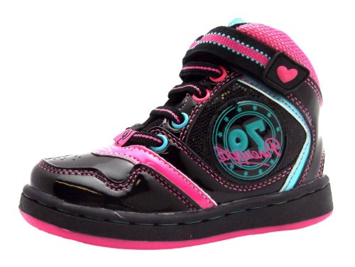 Pineapple Lois, Sneaker bambine Nero nero, Nero (nero), 9 Child UK