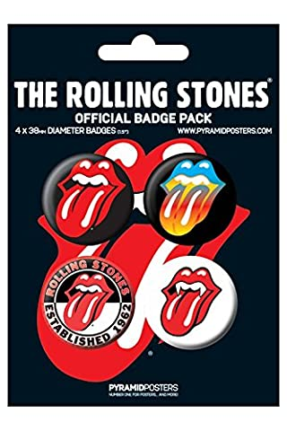 Rolling Stones - BADGE Pack