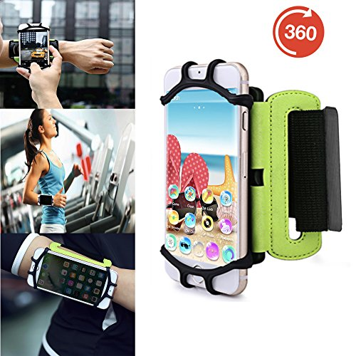 Outdoor Handy Schutzhülle | für Switel Cute S3510D | Multifunktional Sport armband | zum Laufen, Joggen, Radfahren | SPO-3 Grün