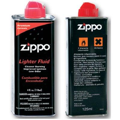 Feuerzeugbenzin für Zippo, 2 Flaschen mit je 125 ml Inhalt