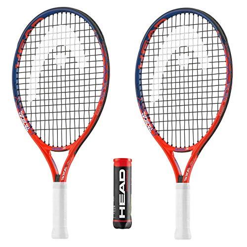 Head - 2 Raquetas Tenis 1 Lata 4 Pelotas Tenis Campeonato