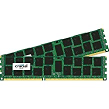 Crucial - Kit de memoria para Mac (32 GB, 2x 16 GB DDR3, PC3-14900, 1866 MT/s, DIMM, 240-Pin)