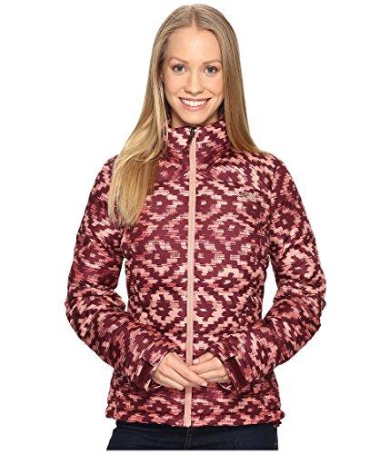 The North Face Women's Nuptse 2 Jacket Deep Garnet Red D-Kat Print (Prior Season) Small -