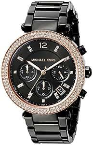 Micheal Kors - MK5885 - Montre Femme - Quartz - Analogique - Bracelet Acier inoxydable noir