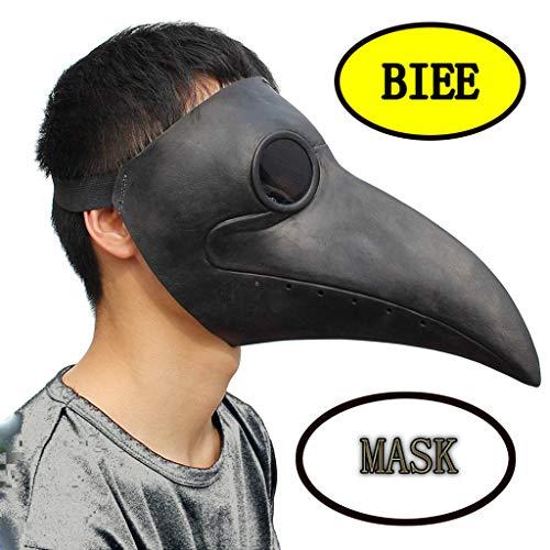 el Masken Lange Nase Schnabel Cosplay Steampunk Halloween Kostüm Requisiten ()