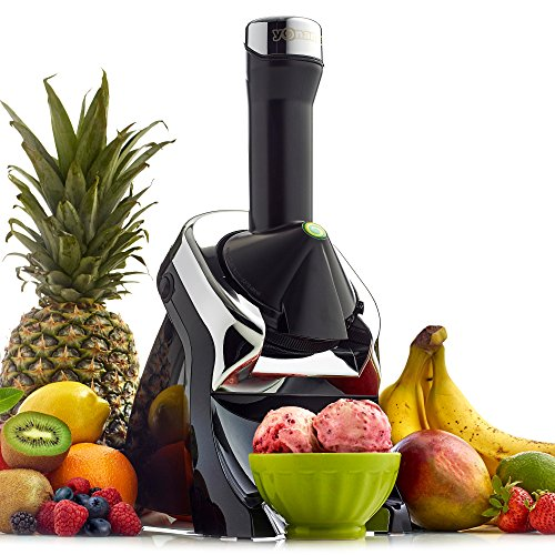 Yonanas Elite Frozen Gesundes Dessert Maker-100% Fruit soft-serve Maker (schwarz) - Die Kombination Eis-maker