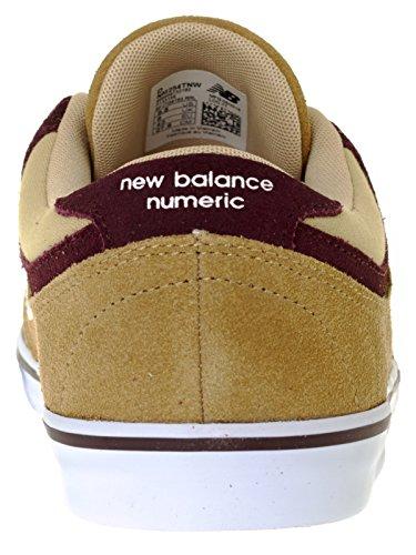 New Balance Numeric Schuh Quincy 254 Dust-Supernova Rot Braun